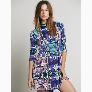 Free People New Romantics fiesta floral dress
